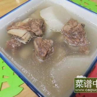 萝卜牛骨汤