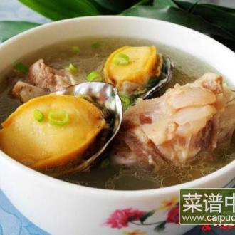 骨汤鲜鲍——新鲜味美