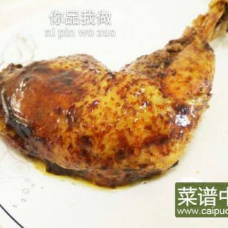 电饭锅版烤鸡腿