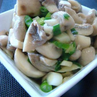 素炒鲜蘑菇