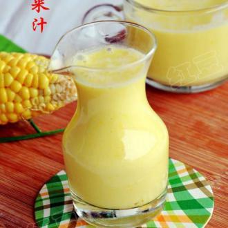 鲜榨玉米汁