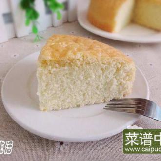 六寸海绵蛋糕