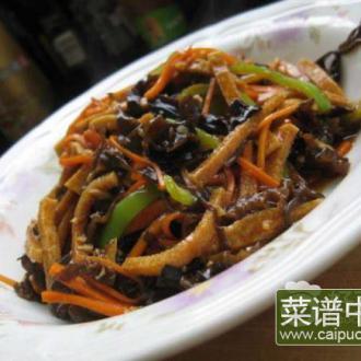 鱼香千叶豆腐