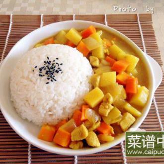 日式咖喱饭