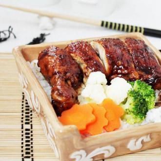 吉野家鸡锦饭