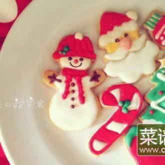 圣诞糖霜饼干