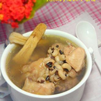 眉豆黄芪煲老母鸡