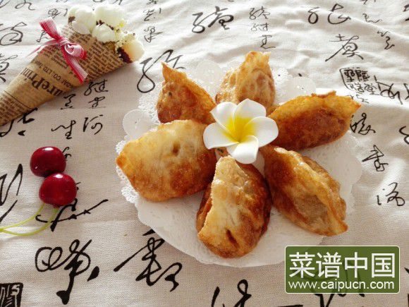 小白菜煎饺