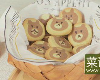 布朗熊饼干