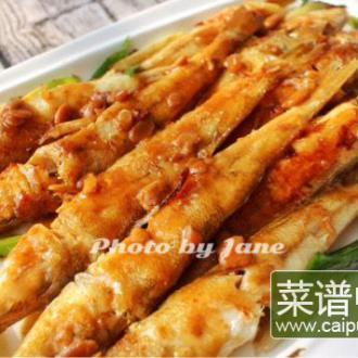 豆酱煎焗沙尖鱼