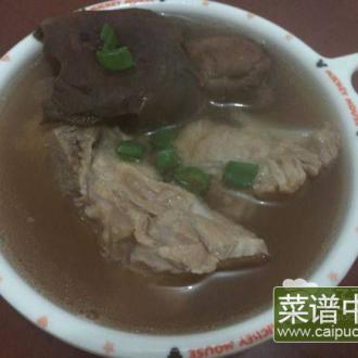 红菇排骨汤