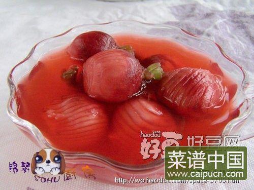 糖渍樱桃萝卜