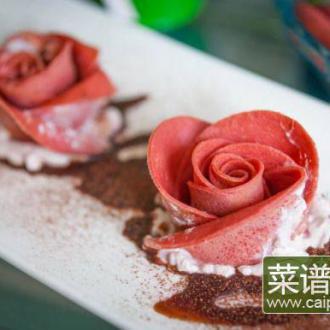 玫瑰可丽卷