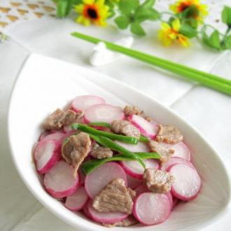 樱桃萝卜炒羊肉