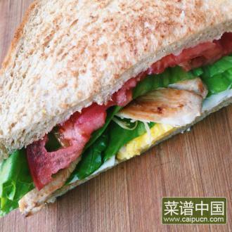鸡胸三明治