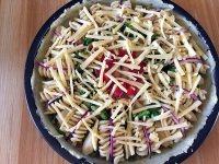 海鲜土豆意面披萨#百味来意面#的做法步骤21