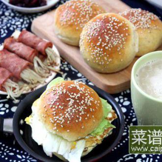 莜麦麸皮餐包(附自制