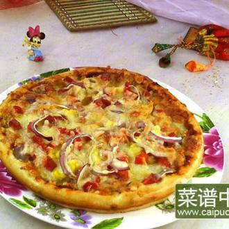 胡萝卜披萨