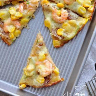 虾仁香肠披萨