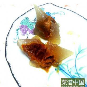 水晶南瓜粽