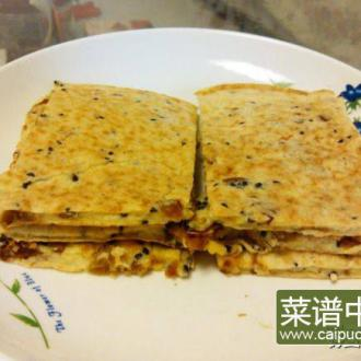 红枣燕麦鸡蛋饼