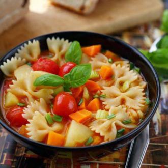 意大利蔬菜浓汤  mine