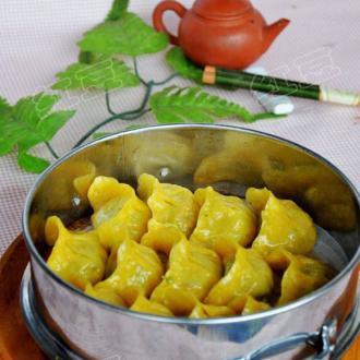 南瓜素蒸饺