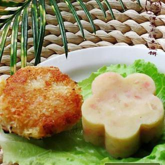 洋葱火腿土豆饼(两种