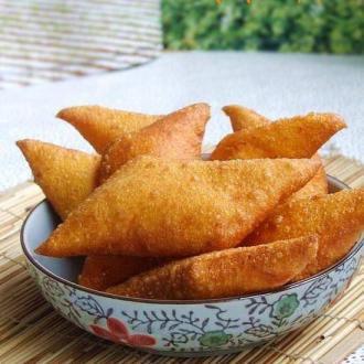 炸巧饼——七夕民俗风