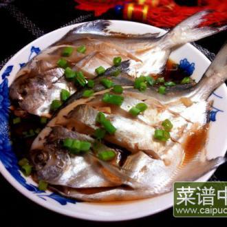 清蒸银鲳鱼