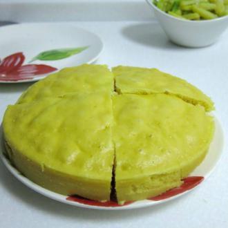 香甜玉米发糕
