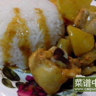 咖喱土豆烧鸡块
