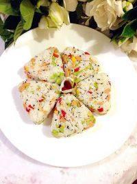黑芝麻玉米肠饭团的做法步骤12