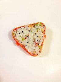 黑芝麻玉米肠饭团的做法步骤10