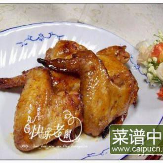 香烤橙汁鸡翅