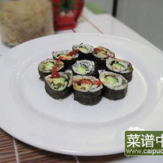 榨菜黄瓜寿司
