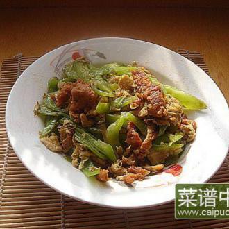 辣椒鸡蛋炒肉