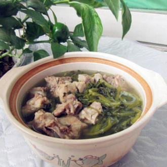 西洋菜煲猪骨汤