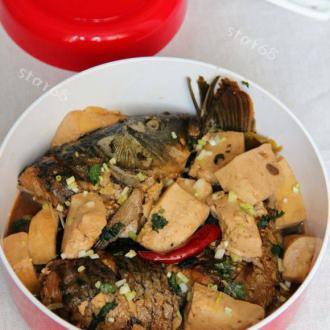 鲜鱼烧豆腐