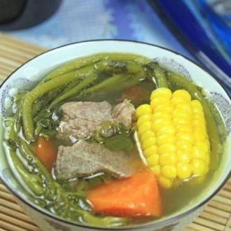 润肺靓汤-西洋菜煲猪