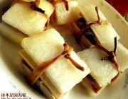 黄花冬瓜豆肉夹的做法步骤5