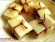 黄花冬瓜豆肉夹的做法步骤7