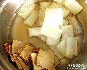黄花冬瓜豆肉夹的做法步骤1