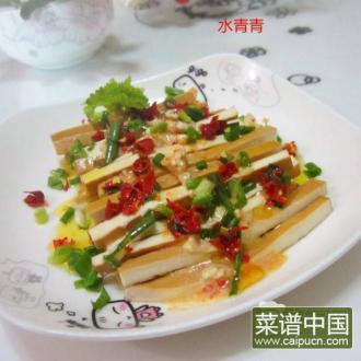 乳香卤豆腐丝