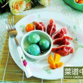 火龙果饺子