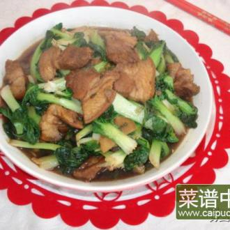 菊花菜烧五花肉
