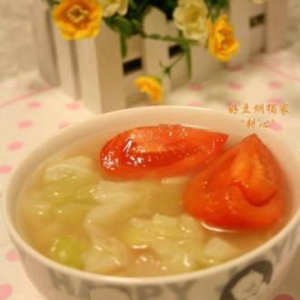 西红柿椰菜汤