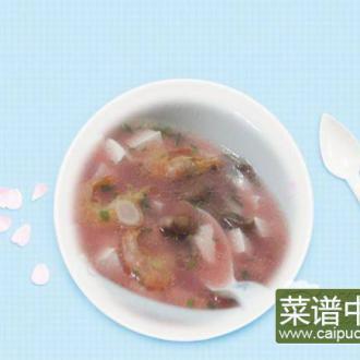 红菇洋参豆腐汤