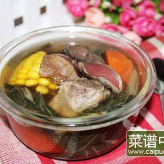 陈肾排骨菜干汤