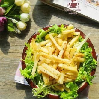 干煸薯条生菜沙拉